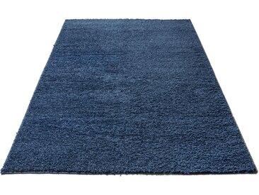 Home affaire Hochflor-Teppich Shaggy 30, rechteckig, 30 mm Höhe, gewebt, Wohnzimmer B/L: 240 cm x 320 cm, 1 St. blau Esszimmerteppiche Teppiche nach Räumen