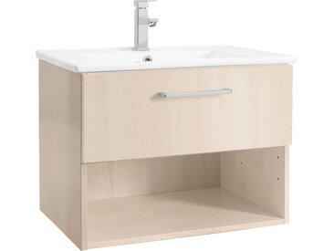 OPTIFIT Waschtisch Napoli, mit Soft-Close-Funktion und Rollen, Breite 65 cm Einheitsgröße beige Waschtische Badmöbel