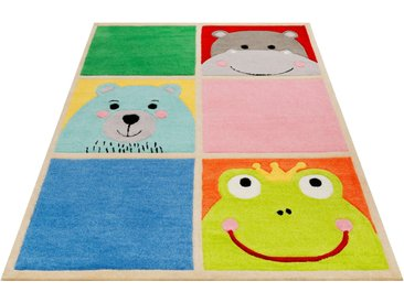 Kinderteppich, What's Up?, SMART KIDS, rechteckig, Höhe 9 mm, handgetuftet