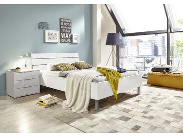 Wimex Kopfteil Easy Für Bettbreite 100 cm und 120 weiß Zubehör für Betten