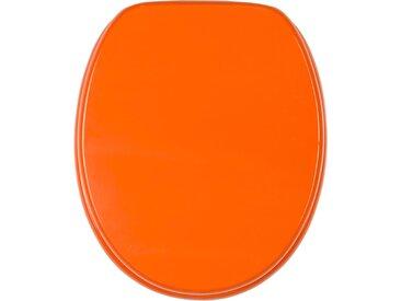 Sanilo WC-Sitz Manhattan Grau Einheitsgröße orange WC-Sitze WC Bad Sanitär