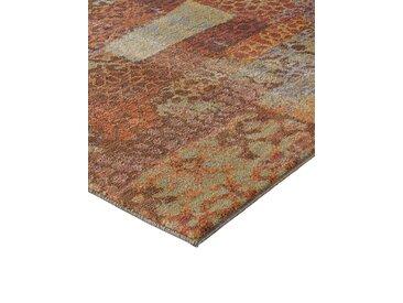 Teppich Solar in Patchwork-Optik 2, ca. 67/135 cm bunt Runde Teppiche Weitere