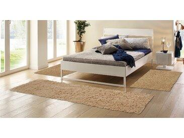 Böing Carpet Bettumrandung Flokati 1500 g, Bettvorleger, Läufer-Set für das Schlafzimmer, reine Wolle, handgewebt B/L (Brücke): 70 cm x 140 (2 St.) (Läufer): 270 (1 St.), U-förmig braun Bettumrandungen Läufer Teppiche