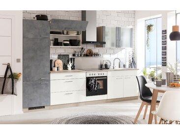 wiho Küchen Faltlifthängeschrank Zell, Breite 90 cm x 56,5 35 (B H T) grau Hängeschränke Küchenschränke Küchenmöbel Schränke