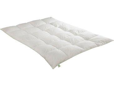 Gänsedaunenbettdecke, Daunendecke, irisette GREENLINE weiß, 155x200 cm weiß Daunendecke Bettdecken Bettdecken, Kopfkissen Unterbetten Bettdecke