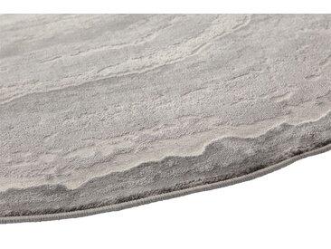Teppich Quarzstein Design 5, ca. 200 cm, rund grau Runde Teppiche Weitere