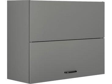 OPTIFIT Faltlifthängeschrank Elga, mit Soft-Close-Funktion und Metallgriffe, Breite 60 cm 90 x 70,4 34,9 (B H T) grau Hängeschränke Küchenschränke Küchenmöbel Schränke