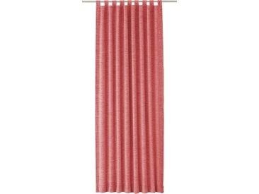 Wirth Vorhang Trondheim 234 g/m² 255 cm, Schlaufen, 270 cm rosa Wohnzimmergardinen Gardinen nach Räumen Vorhänge