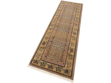 Oriental Weavers Läufer Gabiro Pazyryk, rechteckig, 11 mm Höhe, Teppich-Läufer, gewebt, Orient-Optik, mit Fransen B/L: 80 cm x 292 cm, 1 St. blau Teppichläufer Teppiche und Diele Flur