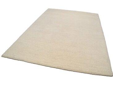 THEKO Wollteppich Amravati, rechteckig, 28 mm Höhe, reine Wolle, echter Berber, handgeknüpft, Wohnzimmer B/L: 120 cm x 180 cm, 1 St. beige Esszimmerteppiche Teppiche nach Räumen