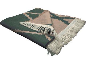 Wohndecke Casket Valdelana, Adam 145x190 cm, Baumwolle braun Baumwolldecken Decken Wohndecken