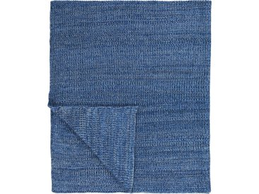 Plaid Kuara, Marc O'Polo Home 130x170 cm, Baumwolle blau Baumwolldecken Decken Wohndecken