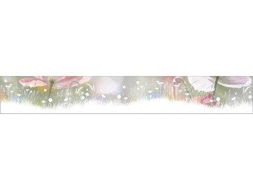 MySpotti Fensterfolie Look Living Meadow, halbtransparent, glattstatisch haftend, 200 x 30 cm, statisch haftend B/L: cm weiß Fensterdekoration Deko Wohnaccessoires