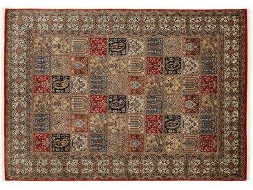 OCI DIE TEPPICHMARKE Orientteppich Vasuki, rechteckig, 4 mm Höhe, handgeknüpft, mit Fransen, Wohnzimmer B/L: 60 cm x 90 cm, 1 St. rot Teppiche