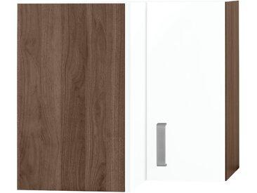wiho Küchen Eckhängeschrank Tacoma Einheitsgröße weiß Hängeschränke Küchenschränke Küchenmöbel Schränke