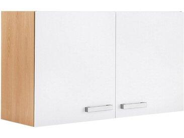 OPTIFIT Hängeschrank Odense, 100 cm breit, 57,6 hoch, mit 2 Türen B/H/T: x 34,6 cm, weiß Hängeschränke Küchenschränke Küchenmöbel