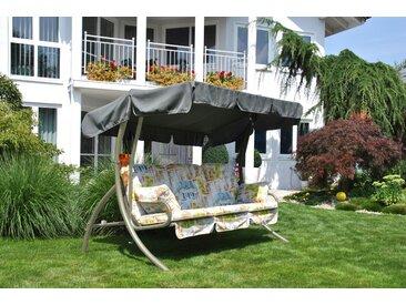 Angerer Freizeitmöbel Hollywoodschaukel Comfort Liberty, inkl. Auflagen und Zierkissen Einheitsgröße beige Hollywoodschaukeln Gartenmöbel Gartendeko