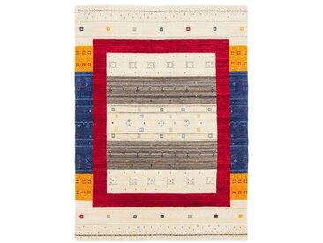 Wollteppich, Gabbeh Sofia, carpetfine, rechteckig, Höhe 15 mm, handgewebt