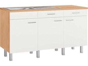 OPTIFIT Spülenschrank Tapa, Modul, Breite 150 cm B/H/T: x 86,4 60 cm, 3 beige Spülenschränke Küchenschränke Küchenmöbel
