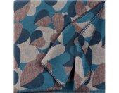 ELLE DECORATION Wohndecke Flowers, mit floralem Design B/L: 150 cm x 200 blau Baumwolldecken Decken
