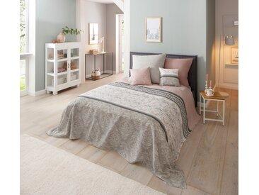 Tagesdecke Cremona, Home affaire 280x210 cm, Baumwolle rosa Tagesdecken Decken