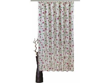 Vorhang, Miri, VHG, Kräuselband 1 Stück 5, H/B: 245/150 cm, blickdicht, rot Blickdichte Vorhänge Gardinen Gardine