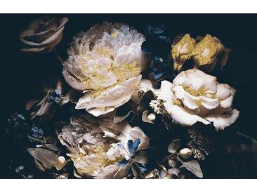 Leonique Acrylglasbild Blüten 150x100 cm, schwarz Acrylglasbilder Bilder Bilderrahmen Wohnaccessoires