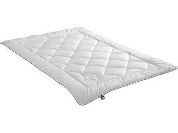Naturhaarbettdecke, Kamelhaar, Irisette, Bezug: 100% Baumwolle weiß, 200x200 cm weiß Naturfaser Bettdecke Bettdecken Bettdecken, Kopfkissen Unterbetten