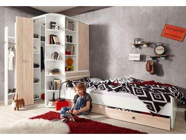 Wimex Jugendzimmer-Set Joker, (Set, 4 tlg.) Einheitsgröße weiß Kinder Komplett-Jugendzimmer Jugendmöbel Kindermöbel Schlafzimmermöbel-Sets