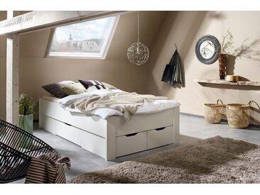 rauch ORANGE Stauraumbett Aditio 120x200 cm Höhe Bettseite: 50 cm, ohne Matratze weiß Einzelbetten Betten