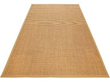 Wecon home Basics Sisalteppich Ansgar, rechteckig, 6 mm Höhe, Wohnzimmer 8, 300x400 cm, beige Schlafzimmerteppiche Teppiche nach Räumen