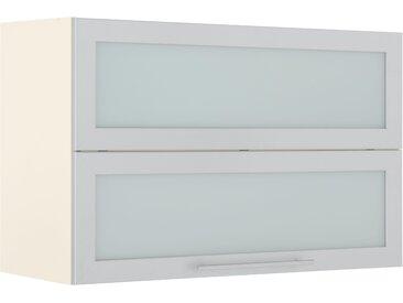 wiho Küchen Faltlifthängeschrank Flexi2, Breite 90 cm B/H/T: x 56 35 grau Hängeschränke Küchenschränke Küchenmöbel