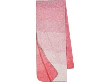 BIEDERLACK Wohndecke Lieblingsdecke to go, der Allrounder B/L: 75 cm x 200 rot Baumwolldecken Decken