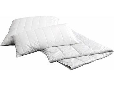 Naturfaserbettdecke, Sensual, Centa-Star, Füllung: 85 % Kamelhaar, 15 Polylactid, Bezug: 100% Baumwolle weiß, 155x220 cm weiß Allergiker Bettdecke Bettdecken Bettdecken, Kopfkissen Unterbetten