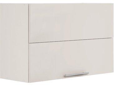 wiho Küchen Faltlifthängeschrank Cali 90 x 56,5 35 (B H T) cm beige Hängeschränke Küchenschränke Küchenmöbel Schränke