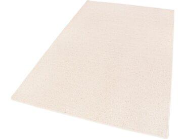 LUXOR living Wollteppich Sheffield, rechteckig, 5 mm Höhe, reine Wolle, Schurwolle, melierte Berber-Optik, Wohnzimmer B/L: 300 cm x 400 cm, 1 St. beige Esszimmerteppiche Teppiche nach Räumen