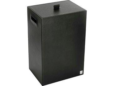 Joop Wäschekorb BATHLINE, mit Deckel B/H/T: 40 cm x 60 30 schwarz JOOP! Badaccessoires