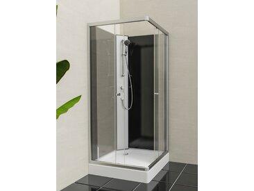 Eisl Komplettdusche Graz 1, inklusive Armatur B/H: 80 cm x 218 weiß Duschkabinen Duschen Bad Sanitär
