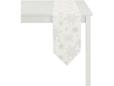 APELT Tischdecke 5201 CHRISTMAS ELEGANCE, (1 St.) B/L: 150 cm x 250 beige Tischdecken Tischwäsche