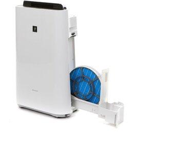 Sharp Kombigerät Luftbefeuchter und -reiniger KC-D50EUW Plasmacluster, für 38 m² Räume Einheitsgröße weiß Klimageräte, Ventilatoren Wetterstationen SOFORT LIEFERBARE Haushaltsgeräte