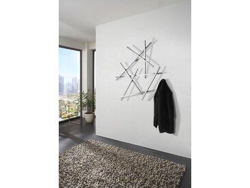 Spinder Design Garderobenleiste MATCHES, Breite 100 cm, Höhe 105 cm B/H/T: x 15 silberfarben Wandgarderoben Garderoben