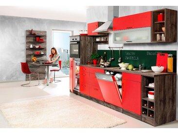 HELD MÖBEL Küchenzeile Sevilla, mit Elektrogeräten, Breite 240 cm