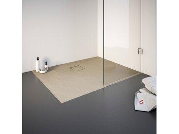 Schulte Duschwanne, rechteckig, BxT: 900 x 1000 mm Einheitsgröße beige Duschwannen Duschen Bad Sanitär