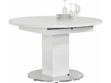 set one by Musterring Esstisch Atlanta, rund, mit Auszugsfunktion B/H/T: 120 cm x 75 cm, Einlegeplatten beige Tische Set Premium-Möbel