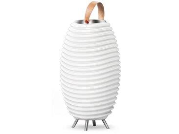 KOODUU,LED Stehlampe Synergy S 1 St., Ø31,7 cm / H:56,3 weiß Außenstandleuchten Außenleuchten Lampen Leuchten