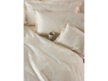 CB1882 Bettbezug Culture, (1 St.), Mustermix (3D Blume, Kacheln, Risse, Streifen…) B/L: 200 cm x beige Mako-Satin-Bettwäsche Bettwäsche nach Material Bettwäsche, Bettlaken und Betttücher