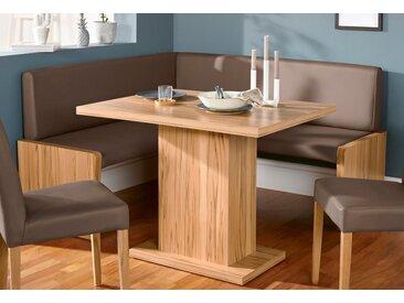 Eckbank Marion Kunstleder, 177cm braun Eckbänke Sitzbänke Stühle