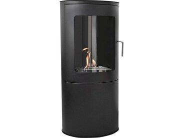 GLOW FIRE Echtfeuer-Dekokamin Stavanger H: 96 cm schwarz Ethanol-Kamine Heizen Klima
