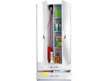 wiho Küchen Mehrzweckschrank Amrum, 80 cm breit, 2 große Schubkästen B/H/T: x 180 35 cm, weiß Mehrzweck-Schränke Schränke
