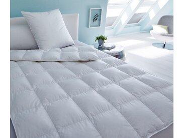 Gänsedaunenbettdecke, Prinzessin 800, SANDERS OF GERMANY, Füllung: 100% Gänsedaunen weiß, 200x200 cm weiß Daunendecke Bettdecken Bettdecken, Kopfkissen Unterbetten Bettdecke